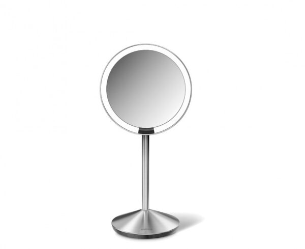 Sensorstyrd Sminkspegel med Belysning Simplehuman Mini  10x Förstoring