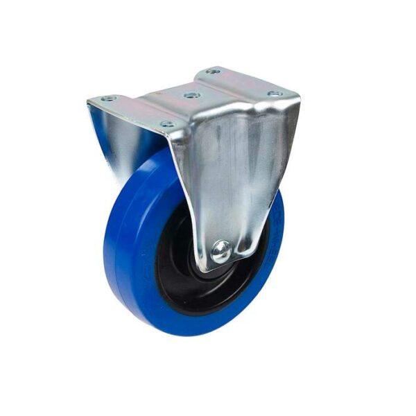 Fast Industrihjul med Platta  100 mm