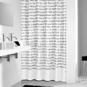 Duschdraperi Sayings 180x200 cm