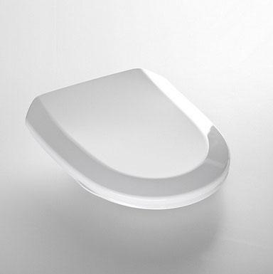 Toalettsits IDO Trevi 91260  mjuksits vit.