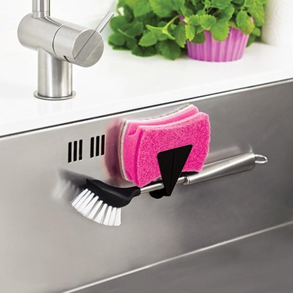 Magnetisk Diskborstehållare och Disksvamphållare till Diskho  Svart