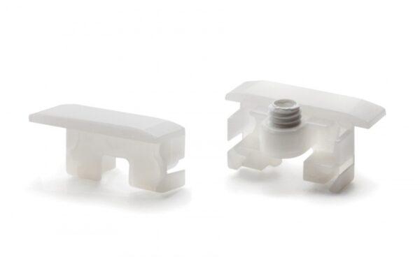 Ändavslut till Icy Profil för LED-Strip  2-pack