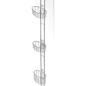 Duschhylla Kabina Flex Tower för Duschvägg