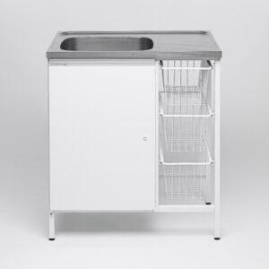 Tvättbänk IFÖ Contura Steel CAB 8