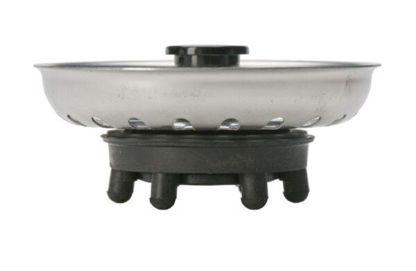 Intra Silkorg med svart lyftknopp Ø80 mm