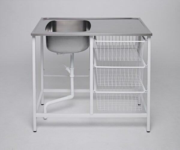 Tvättbänk IFÖ Contura Steel CABM 10