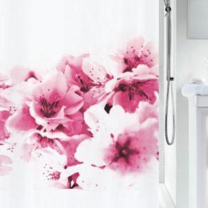 Duschdraperi Amanda Pink 180x200 cm