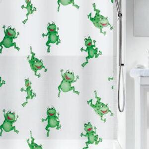 Duschdraperi Frogtime 180x200