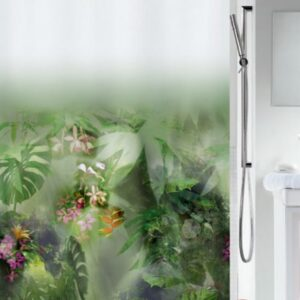 Duschdraperi Jungle 180x200 cm