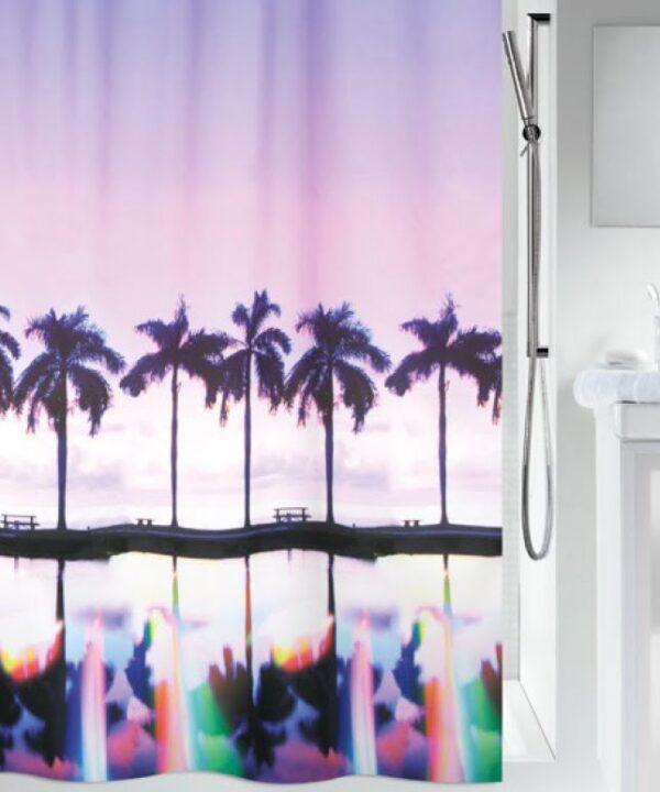 Duschdraperi Palm Beach 180x200 cm