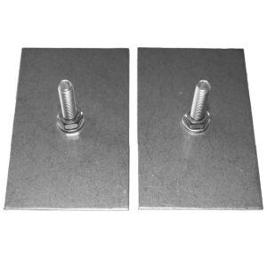 Limbricka för mindre Badrumsmöbel Design4Bath M6x30 mm 50x80x2 mm