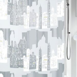 Duschdraperi Skyline 180x200 cm