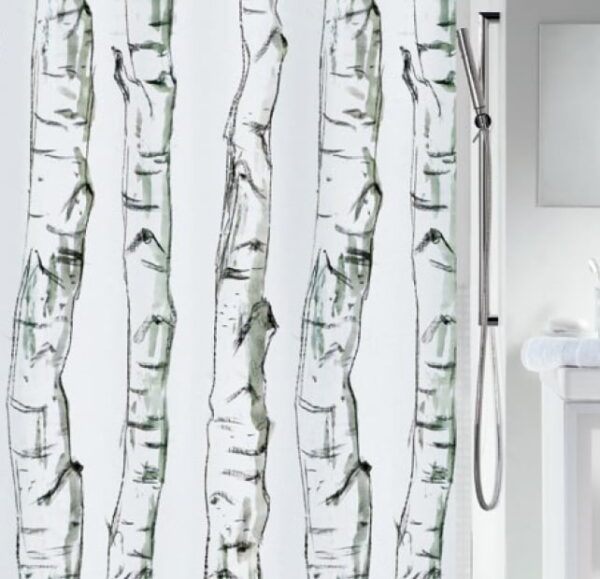 Duschdraperi Wood