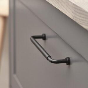 Handtag Beslag Design Lounge Lädersvept 160 33280C Beslag Design