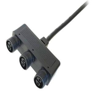 Grenkoppling Garden Plug och Play (12 V)  3 Uttag