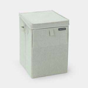 Stapelbar tvättkorg Brabantia  35 l  Grön (xTx)