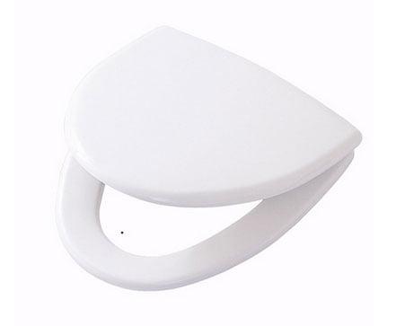 Ifö Cera hårdsits vit med snabbkoppling eller fasta beslag
