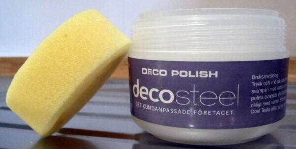 Decopolish Decosteel  poleringsmedel till diskbänkar