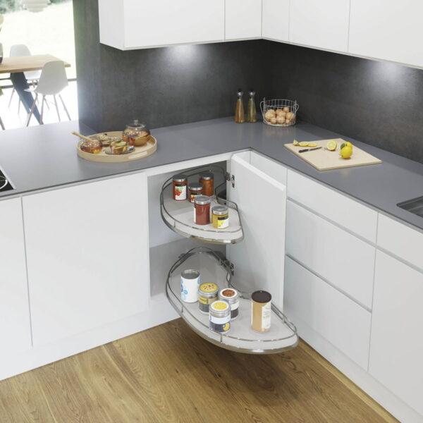 Hörnskåpsutdrag Beslag Design Cornerstone Maxx