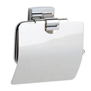 Toalettpappershållare med Lock Noll Hål i Väggen KLAAM KL236