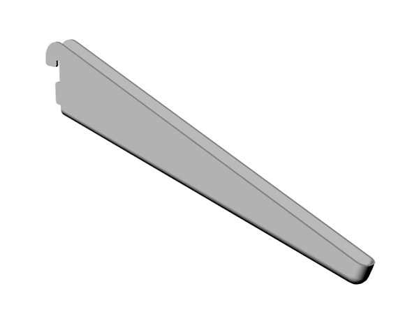 Konsol Pelly Lutande Vit 280 mm