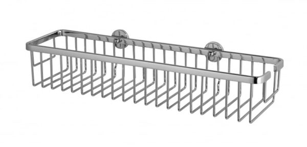 Badrumshylla Lång Modell Noll Hål i Väggen ALUXX AL132CR