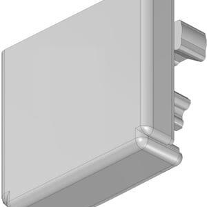 Ändavslut till Twig Profil för LED-Strip  2-pack