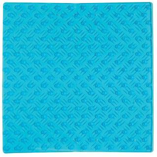 Halkmatta Pleasure 54x54 cm  Transparent Blå