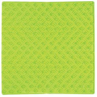 Halkmatta Pleasure 54x54 cm  Transparent Grön