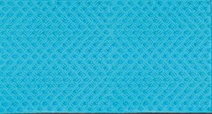 Halkmatta Pleasure 80x40 cm  Transparent Blå