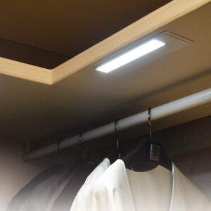 Garderobsbelysning Leddy 7 Vit