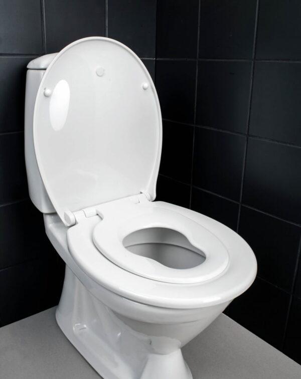 Toalettsits Familjesitsen Duo Seat Kombinerad för Barn och Vuxen