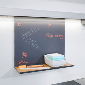 Whiteboardtavla med hylla Linero MosaiQ