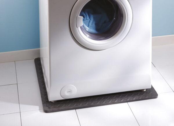 Stöt-och vibrationsdämpande matta för tvättmaskin