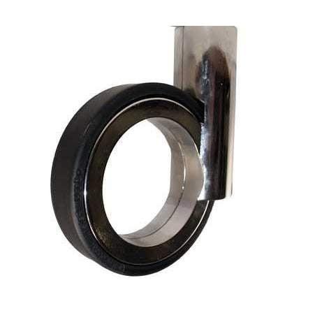 Designhjul OgTM Rotola 100 67 mm  Svart / Krom