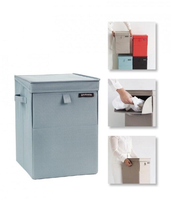 Tvättkorg / Förvaringsbox Stapelbar Brabantia 35 l
