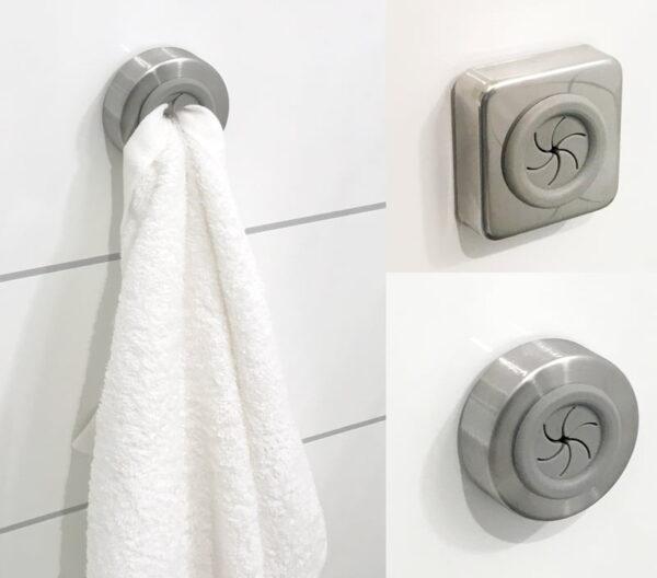 Handdukshängare Disktrasehängare Towel Grip