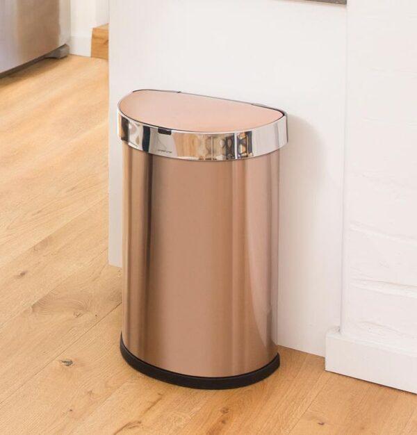 Sensorstyrd Soptunna Simplehuman  45 liter  Rose gold (OUTLET)