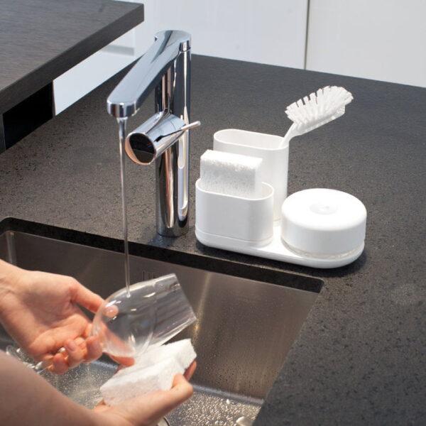 Diskmedelspump och Förvaringsställ Bosign Do-Dish Caddy