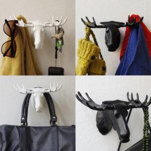 Moose Hanger  Krok för smycken  kläder  nycklar  väskor mm