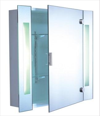 Opal Spegelskåp med Belysning Queen VPK65 LED