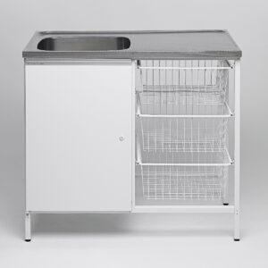 Tvättbänk IFÖ Contura Steel CAB 10
