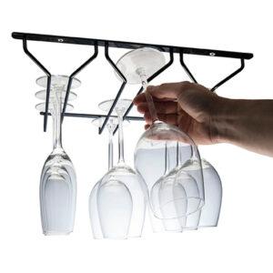 Vinglashållare för Tak eller Köksskåp R-10423104065-C Hahn