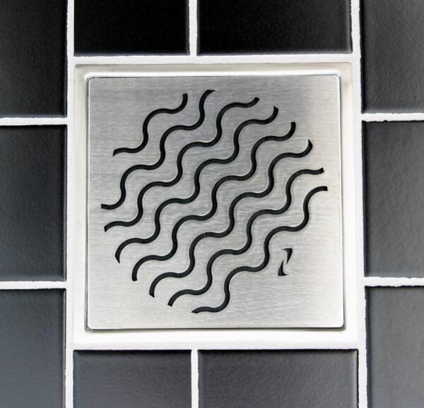 Purus designsil  Wave 155x155mm (xTx)