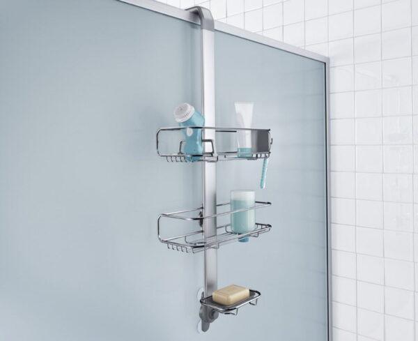 Duschhylla för duschvägg Simplehuman