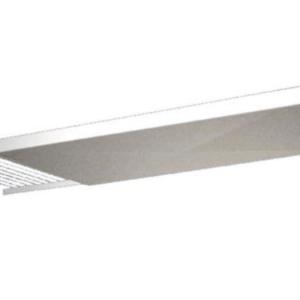 Droppskydd till diskhylla för glas  vit-400 mm (xTx)