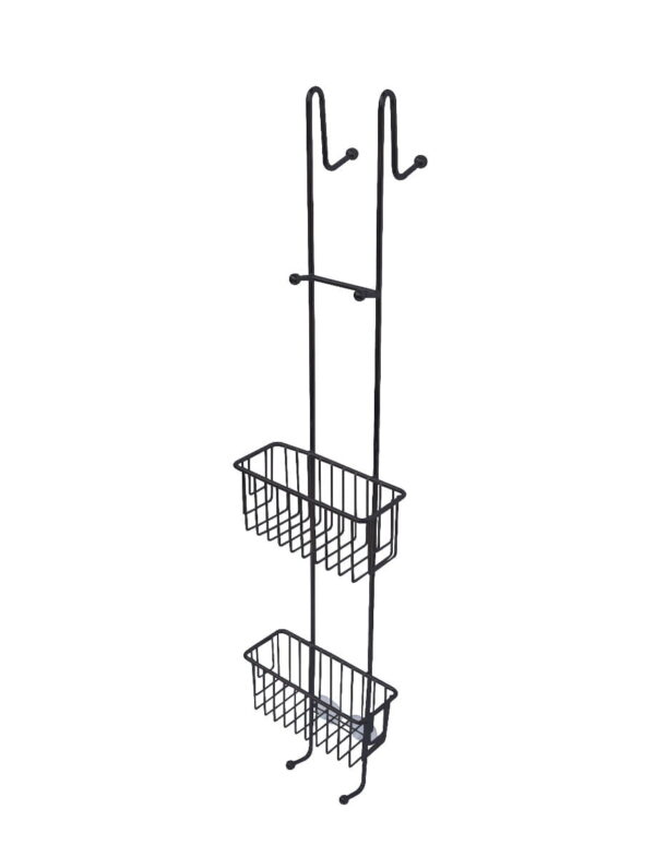 Duschhylla Kabina 100 cm  rak modell svart