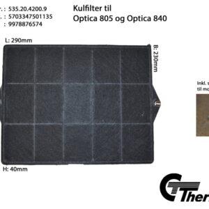Kolfilter till Thermex Fläktar KF15