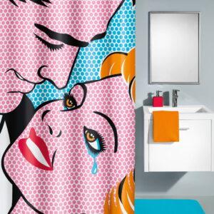 Duschdraperi Kiss 180x200 cm (xTx)