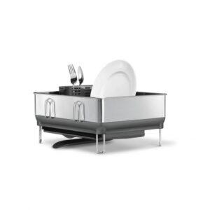 Diskställ för Bänkskiva Simplehuman Kompakt grå 20145 Simplehuman